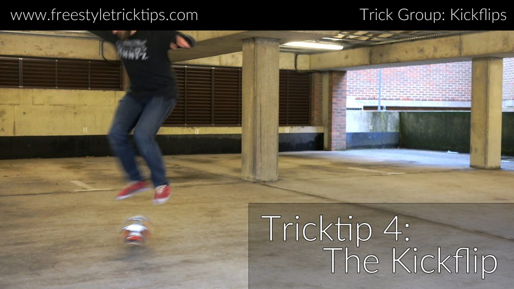 Kickflip Trick Tip