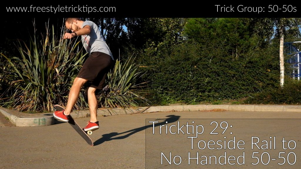 Toeside Rail to No Handed 50-50 Featured Image